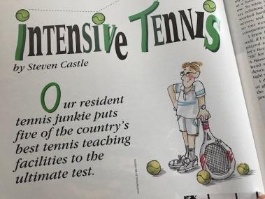 The Tao of Bad Tennis